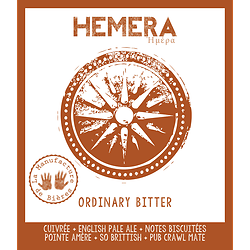 Bouteille 33cL - Héméra Ordinary Bitter