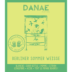 Bouteille 33cL - Danaé Berliner Sommer Weisse