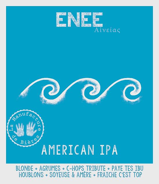 Carton 12 x 33cL - Enée American IPA