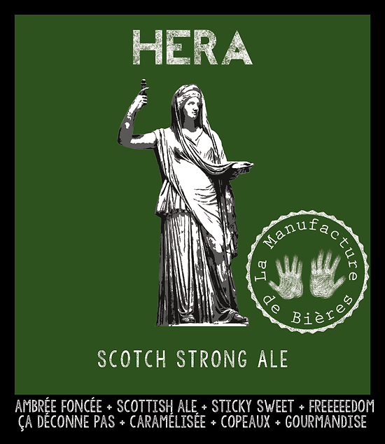 Bouteille 33cL - Héra Strong Scottish Ale