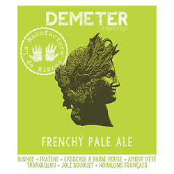 Bouteille 33cL - Déméter - Frenchy Pale Ale