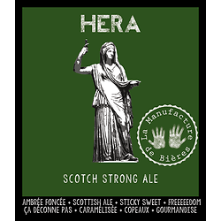 Bouteille 75cL - Héra Strong Scottish Ale