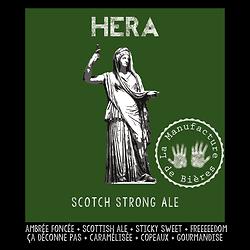 Carton 6x75cL - Héra Strong Scottish ale - 10 %