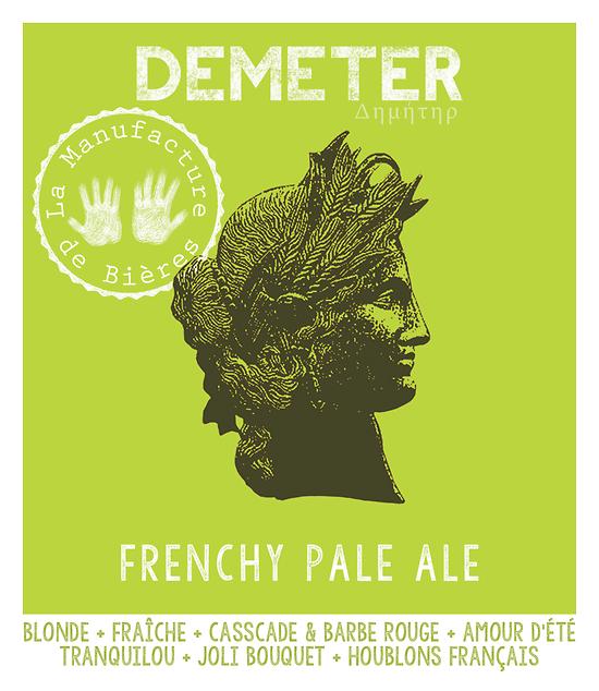 Carton 12x33cL - Déméter - Frenchy Pale Ale