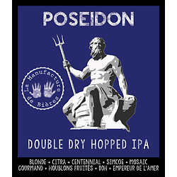 Bouteille 33cL - Poséidon Double Dry-Hopped IPA