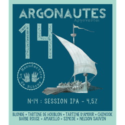 Carton 12x33cL - Argonautes n°14 Session IPA
