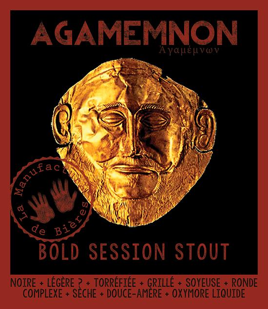 Bouteille 33cL - Agamemnon Bold Session Stout