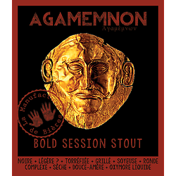 Bouteille 33cL - Agamemnon Bold Session Stout
