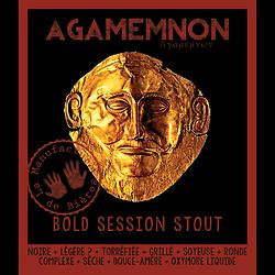 Carton 6x75cL - Agamemnon Bold Session Stout