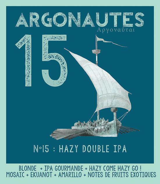 Bouteille 33cL - Argonautes N° 15