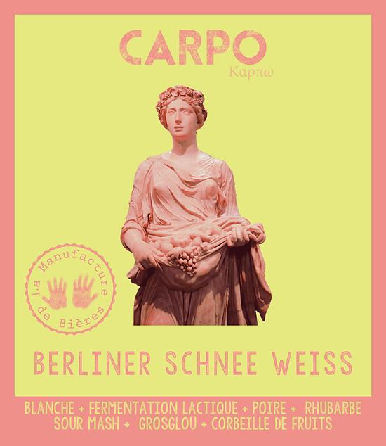 Bouteille 33cL - Carpo Berliner Schnee Weisse