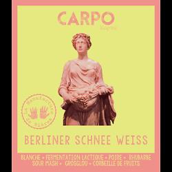 Bouteille 75cL - Carpo Berliner Schnee Weisse