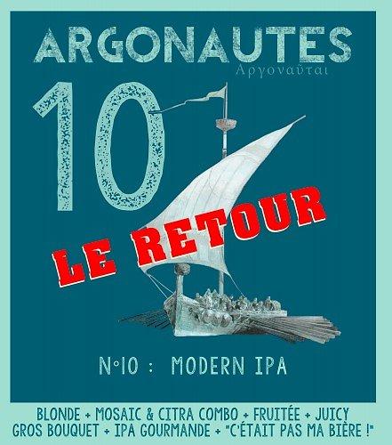 Carton 12x33cL - Argonautes n°10 LE RETOUR - Modern IPA