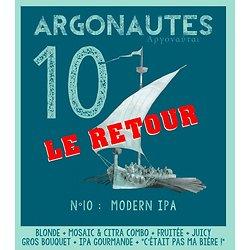 Carton 6x75cL - Argonautes n°10 LE RETOUR - Modern IPA