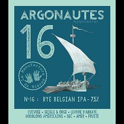 Bouteille 75cL - Argonautes n°16 - Rye Belgian IPA