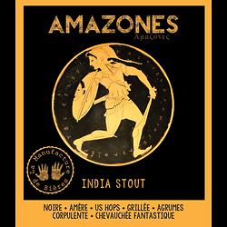 Bouteille 75cL - Amazones - India Stout