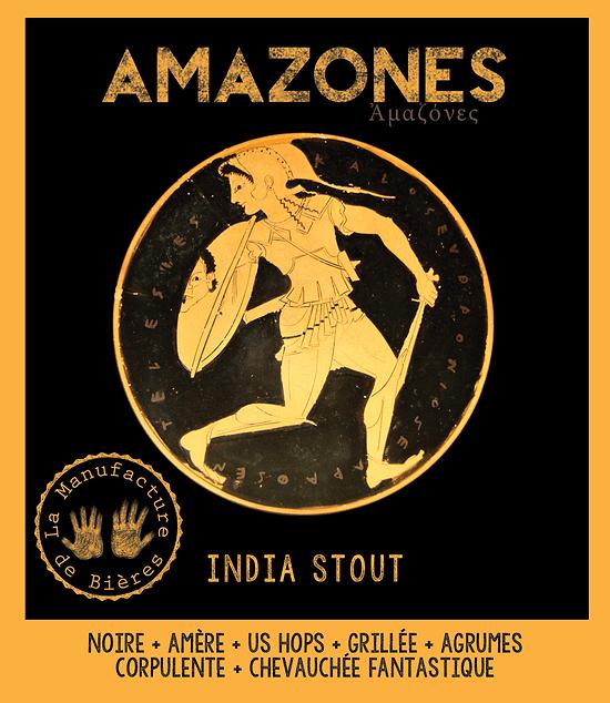 Carton 6 x 75cL - Amazones - India Stout