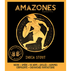 Carton 6 x 75cL - Amazones - India Stout