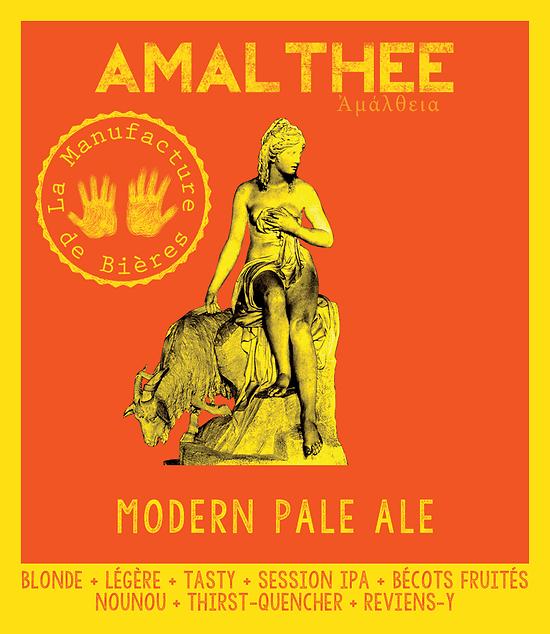 Carton 12 x 33cL - Amalthée Modern Pale Ale