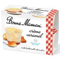 BONNE MAMAN - Crème Caramel 4 Pots