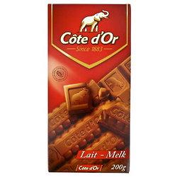 CÔTE D'OR - Tablette Lait Extra Fin 200G