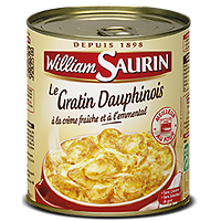 WILLIAM SAURIN - Le Gratin Dauphinois
