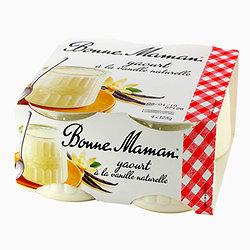 BONNE MAMAN - Yaourt à la Vanille Naturelle x4