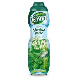 TEISSEIRE - Sirop Menthe - 75CL