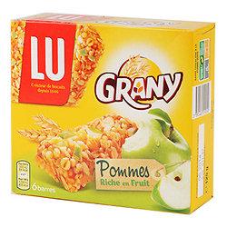 LU - Grany - Pommes - 6 Barres
