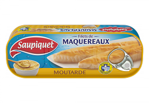 SAUPIQUET - Filet de Maquereaux à la Moutarde