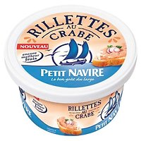 PETIT NAVIRE - Rillettes de Crabe 125G
