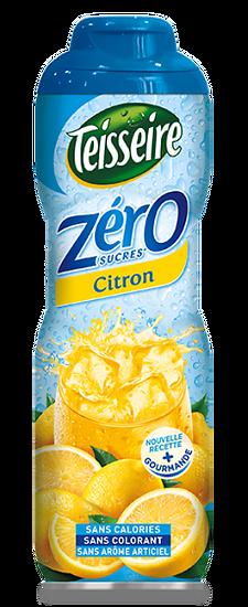 TEISSEIRE - Sirop de Citron 0%