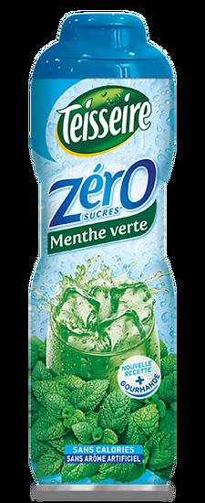 TEISSEIRE - Sirop de Menthe 0%
