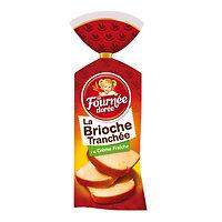 A FOURNÉE DORÉE - Brioche tranchée à la crème fraiche