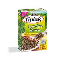 TIPIAK - Lentilles vertes tenue parfaite