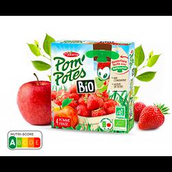 MATERNE - Pom'Potes BIO Pomme Fraise