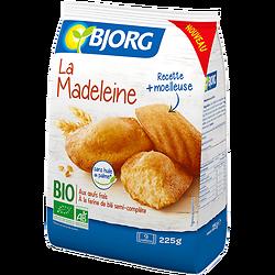 BJORG - La Madeleine BIO recette + moelleuse