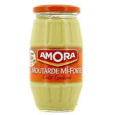 AMORA - Moutarde de Dijon Mi Forte