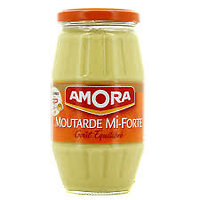 AMORA - Moutarde de Dijon Mi Forte 340g