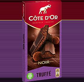 CÔTE D'OR - Noir - Truffé