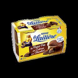 LA LAITIÈRE - Petit Pot de Crème au Chocolat