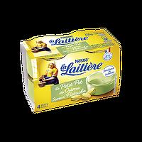LA LAITIÈRE - Petit Pot de Crème Pistache x4