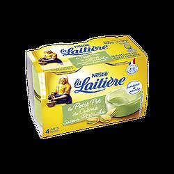 LA LAITIÈRE - Petit Pot de Crème Pistache