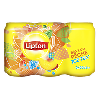 LIPTON - Saveur Pêche Ice Tea x6