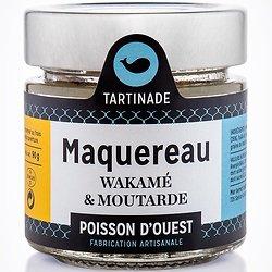 TARTINADE - Maquereau Wakamé Moutarde