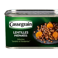 CASSEGRAIN - Lentilles 400g