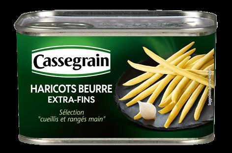 CASSEGRAIN - Haricots Beurre Extra Fins