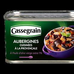 CASSEGRAIN - Aubergines Cuisinées à la Provençale