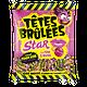 TÊTES BRÛLÉES - Bille Star Framboise