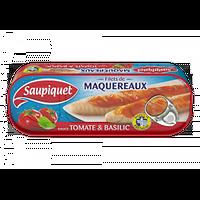 SAUPIQUET - Filets De Maquereaux Sauce Tomate Et Basilic